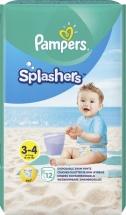 Трусики для плавания Pampers Splashers 3-4 (6-11 кг) 12 шт
