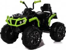 Электромобиль-квадроцикл Jetem Grizzly 2-х моторный, зеленый/черный