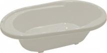 Ванночка Пластик-Центр Cool со сливом, белый перламутр