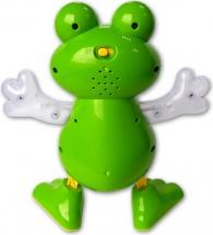 Танцующая лягушка, световые и звуковые эффекты