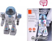 """Робот """"Кибер герой"""" шагающий со светом и звуком"""