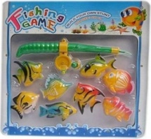 Рыбалка магнитная, 8 рыбок