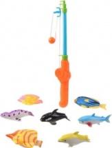 Рыбалка магнитная, 7 рыбок