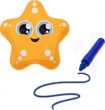 Игрушка для ванны Звёздочка с пищалкой (+ водный карандаш)