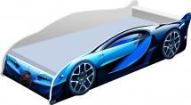 Кровать-машинка Кроватка 5 Бугатти синяя