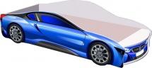 Кровать-машинка Кроватка 5 БМВ new синяя