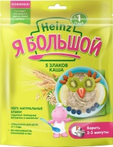 Каша Heinz Я Большой безмолочная 5 злаков с 12 мес 250 г