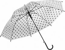 Зонт полуавтоматический Горошек r=45см