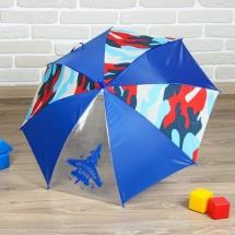 Зонт полуавтоматический Настоящий герой r=35см