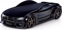 Кровать-машина NEO Тесла объемная 3d, черный