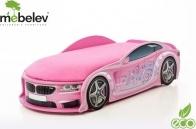 Кровать-машина UNO БМВ-М, розовый