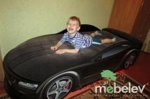 Кровать-машина UNO БМВ-М, красный