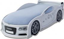 Кровать-машина UNO Ауди-А4, белый