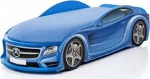 Кровать-машина UNO Мерседес-М, синий