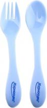 Ложка и вилка Курносики, голубой