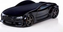 Кровать-машина NEO БМВ объемная 3d, черный