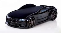 Кровать-машина NEO Мазерати объемная 3d, черный
