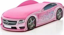 Кровать-машина UNO Мерседес-М, розовый