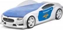 Кровать-машина NEO Тесла объемная 3d, Полиция