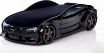 Кровать-машина NEO Вольво объемная 3d, черный