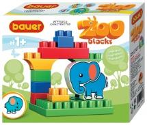 Конструктор Bauer Зооблокс Слон 11 элементов