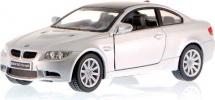 Машинка Kinsmart BMW M3 купе, серебристый