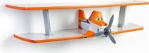 Полка Дасти 2 двухъярусная, оранжевый