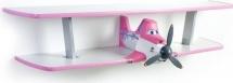 Полка Дасти 2 двухъярусная, розовый