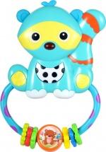 Музыкальная игрушка-погремушка Жирафики Енот
