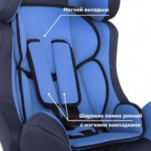 Автокресло Siger Диона 0-25 кг голубой