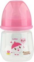 Бутылочка Lubby Малышарики Нюшенька 125 мл