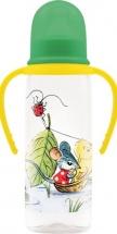 Бутылочка Lubby Сказки В.Сутеева Кораблик с ручками 250 мл