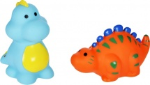 Игрушки для купания Жирафики Динозаврики