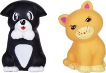 Игрушки для купания Жирафики Котенок и щенок