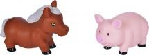 Игрушки для купания Жирафики Лошадка и свинка