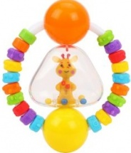 Погремушка-прорезыватель Жирафики Радужный жирафик