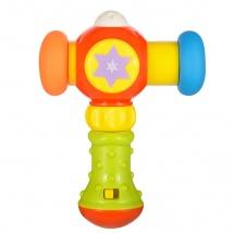 Развивающая игрушка Жирафики Сияющий молоточек