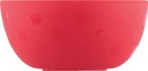 Тарелка Lubby Just Высокая 300 мл, красный