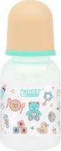 Бутылочка Lubby Малыши и Малышки Мишка 125 мл