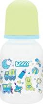 Бутылочка Lubby Малыши и Малышки Котик 125 мл