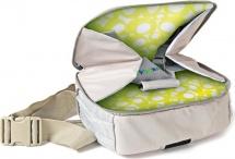 Стульчик-сумка Жирафики для кормления и путешествий с сидушкой и пеленальной площадкой, от 6 месяцев