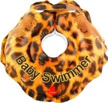 Круг на шею Baby Swimmer Гламур Леопард 3-12 кг