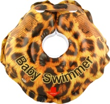 "Круг на шею Baby Swimmer ""Гламур"" Леопард 3-12 кг"