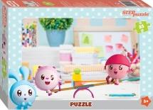Пазлы Steppuzzle Малышарики 35 элементов