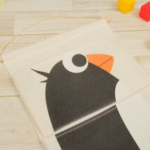 Кармашки Пингвин для детского сада в шкафчик 63х35 см