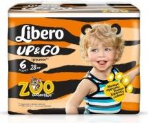 Трусики Libero Up&Go 6 (13-20 кг) 28 шт