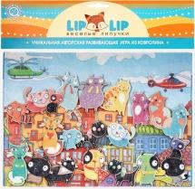 Веселые липучки Lip-Lip LIP Городские коты с игровым полем