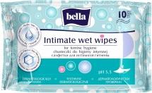 Влажные салфетки Bella для интимной гигиены 10 шт