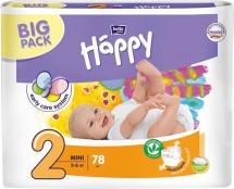 Подгузники Bella Happy Mini 2 (3-6 кг) 78 шт