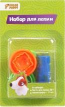 Мини-набор для лепки Color puppy тесто 20 г и аксессуары